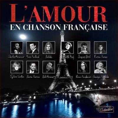 L'Amour En Chanson Française (Plak) Çeşitli Sanatçılar