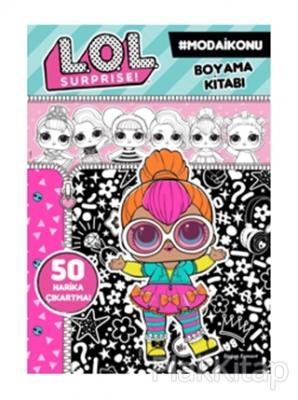 Lol Surprise Moda Ikonu Boyama Kitabi Kolektif