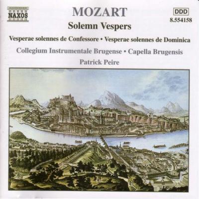 Mozart: Solemn Vespers (CD)