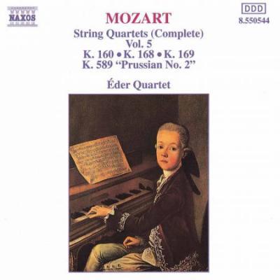 Mozart: String Quartets, K. 168-169 and K. 589, 'Prussian No. 2' (CD)
