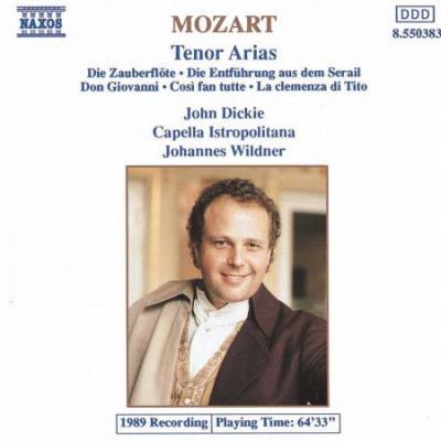 Mozart: Tenor Arias (CD)