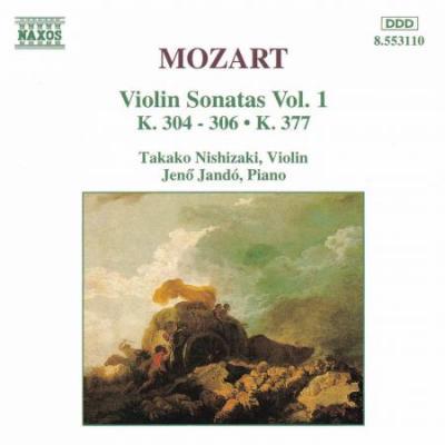 Mozart: Violin Sonatas Vol. 1 (CD)