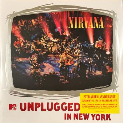 Mtv Unplugged in New York (2 Plak)