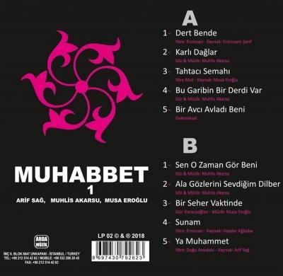Muhabbet 1 (Plak) Arif Sağ