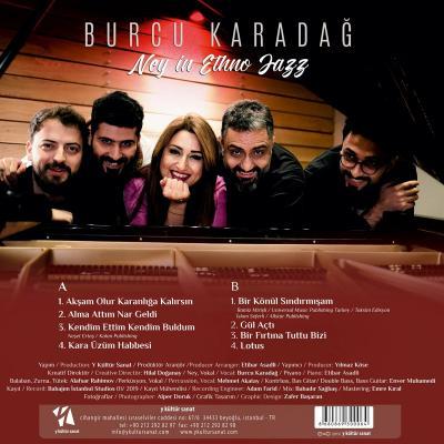 Ney In Ethno Jazz (Plak) %12 indirimli Burcu Karadağ