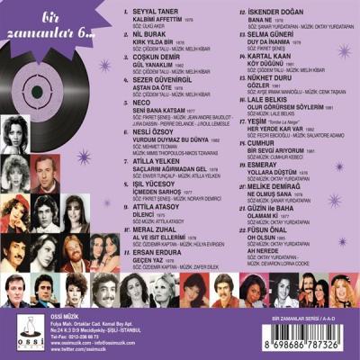 Bir Zamanlar 6 (CD) Çeşitli Sanatçılar