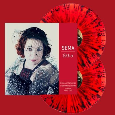 Ekho (Red Vinyl with Splatter) (2 Plak) Sema Moritz