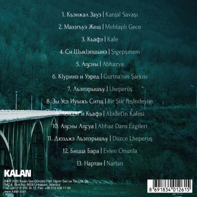 Köprü - Abaza Ezgileri (CD) Çeşitli Sanatçılar