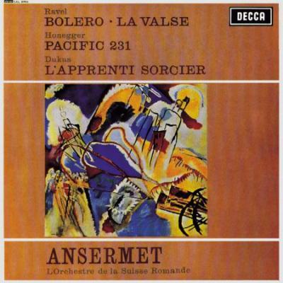 Ravel Bolero, La Valse / Honegger Pacific 231 (Plak)