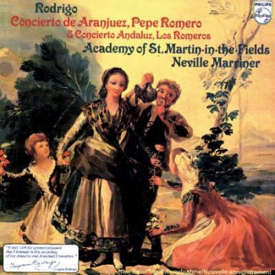 Rodrigo Concierto De Aranjuez & Concierto Andaluz (Plak)