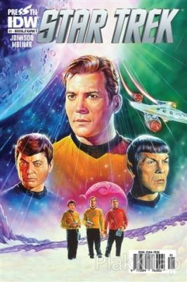 Star Trek Sayı: 1 - Nostalji Kapak Mike Johnson