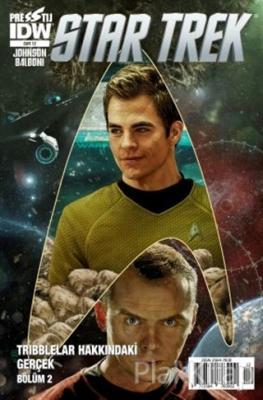 Star Trek Sayı 12 Mike Johnson
