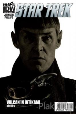 Star Trek Sayı: 8 - Kapak B Mike Johnson