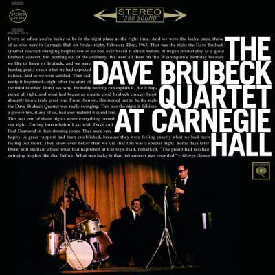 The Dave Brubeck Quartet At Carnegie Hall  (2 Plak)