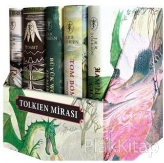Tolkien Mirası (Kutulu 5 Kitap) (Ciltli)