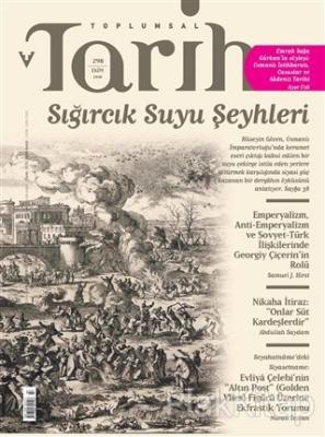 Toplumsal Tarih Dergisi Sayı: 298 Ekim 2018