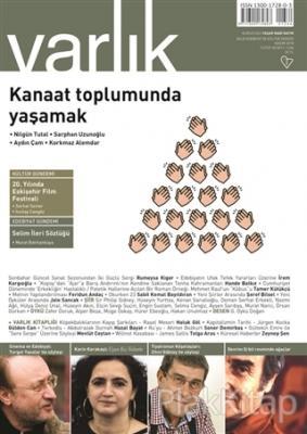 Varlık Aylık Edebiyat ve Kültür Dergisi Sayı: 1334 Kasım 2018
