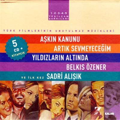 Yeşilçam Şarkıları Türk Filmlerinin Unutulmaz Müzikleri (5 CD+Kitap)