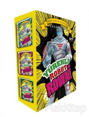 Yürekli Robot Rowni (3 Kitap Set)