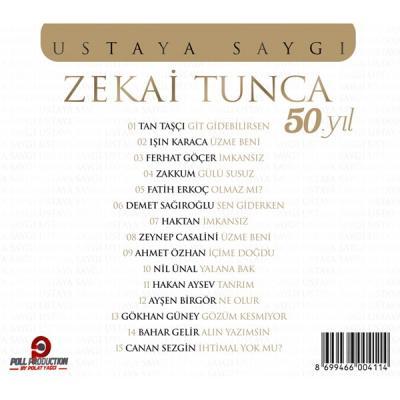Zekai Tunca - 50.yıl Ustaya Saygı (CD) Zekai Tunca