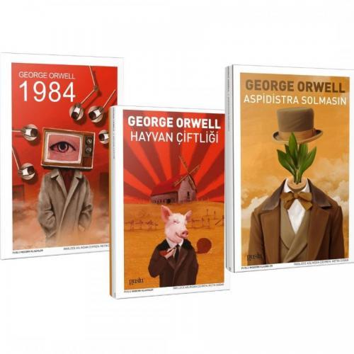 GEORGE ORWELL ÜÇLÜ SET (1984, HAYVAN ÇİFTLİĞİ, ASPİDİSTRA SOLMASIN)