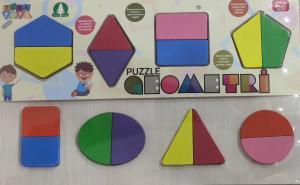 Şahcan Toys Ahşap Geometri Puzzle
