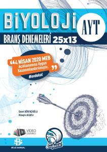 Bilgi Sarmal AYT Biyoloji #EvdeKal 25x13 Branş Denemeleri