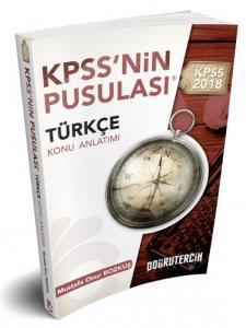 Doğru Tercih KPSS'nin Pusulası Türkçe Konu Anlatımı 2018