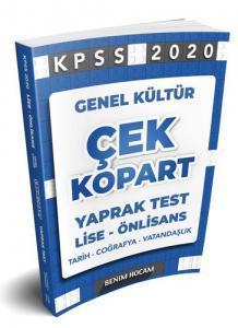 Benim Hocam Lise-Önlisans Genel Kültür Çek Kopart Yaprak Test 2020