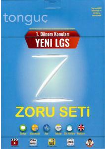Tonguç Akademi LGS 1. Dönem Zoru Bankası Seti