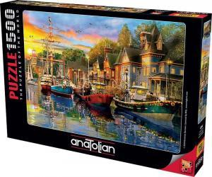 Anatolian 1500 Parça Puzzle Liman Işıkları