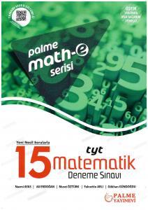 Palme TYT Matematik Math-e Serisi Tamamı Video Çözümlü 15 Deneme Sınavı