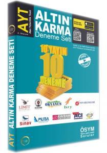 Altın Karma AYT 10 Farklı Yayın 10 Deneme Seti
