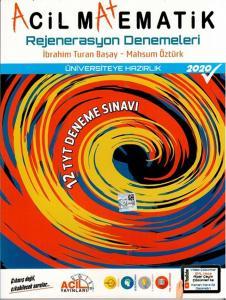Acil TYT Acil Matematik Rejenerasyon 12 Deneme Sınavı