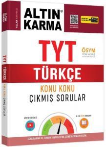 Altın Karma TYT Türkçe Konu Konu Çıkmış Sorular