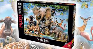 Anatolian 1000 Parça Puzzle Gülümse