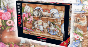 Anatolian 1000 Parça Puzzle Yavru Kediler