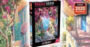 Anatolian 1000 Parça Puzzle Kıyı Merdivenleri