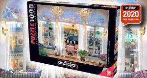 Anatolian 1000 Parça Puzzle Paris Teras Manzarası