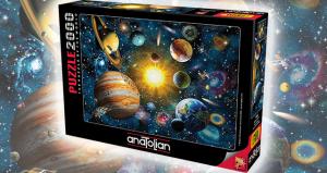 Anatolian 2000 Parça Puzzle Güneş Sistemi