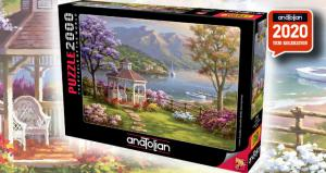 Anatolian 2000 Parça Puzzle Kristal Göl