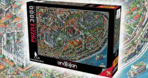 Anatolian 3000 Parça Puzzle Fractal İstanbul