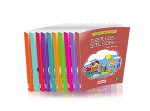 Artı Eğitim 1. Sınıf Değerler Eğitimi Seti 10 Kitap