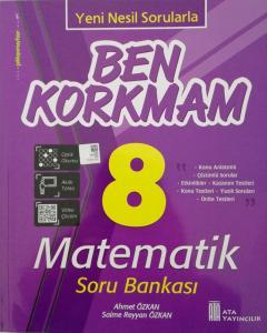 Ata 8. Sınf Ben Korkmam Matematik Soru Bankası
