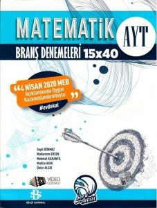 Bilgi Sarmal AYT Matematik #EvdeKal 15x40 Branş Denemeleri