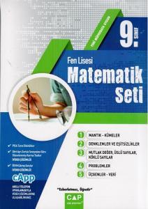 Çap 9. Sınıf Fen Lisesi Matematik Seti 2018-2019