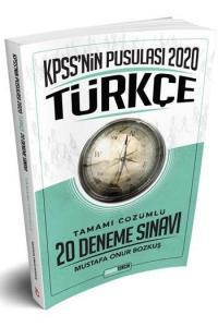 Doğru Tercih KPSS'nin Pusulası Türkçe Tamamı Çözümlü  20 Deneme Sınavı 2020