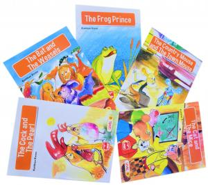 Erdem Level 4 Merit Readers İngilizce Öyküler 5 Kitap