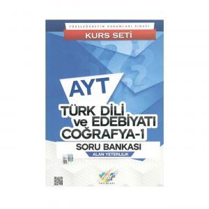 FDD AYT Türk Dili ve Edebiyatı Coğrafya - 1 Soru Bankası Kurs Seti
