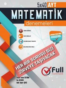 Full AYT Matematik Denemeleri 5x40